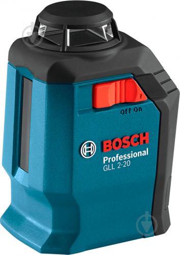 Нивелир лазерный Bosch Professional GLL 2-20 + BM3 0601063J00 - фото 8