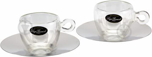 Набор чашек с блюдцами Espresso Thermic 65 мл 2 шт. Luigi Bormioli - фото 2