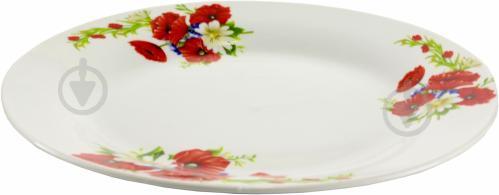 Тарелка обеденная Маки и ромашки 23 см Оселя - фото 4