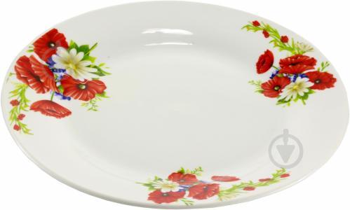 Тарелка обеденная Маки и ромашки 23 см Оселя - фото 3