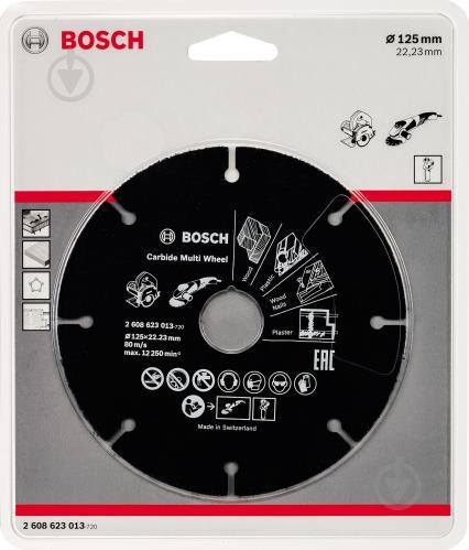 Пильный диск Bosch 125x22.2x1 Z8 2608623013 - фото 2