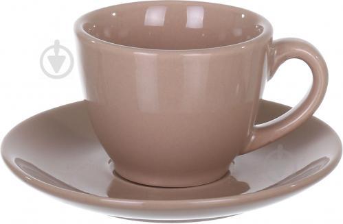 Чашка с блюдцем Latte 90 мл Bella Vita - фото 5