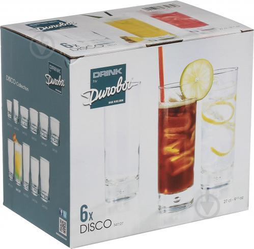 Набор бокалов для коктейлей Disco 270 мл 6 шт. Durobor - фото 4