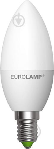 Лампа светодиодная Eurolamp LED-CL-08143 (E) 8 Вт C37 матовая E14 175-250 В 3000 К - фото Лампа светодиодная Eurolamp LED-CL-08143 (E) 8 Вт C37 матовая E14 175-250 В 3000 К - фото 4