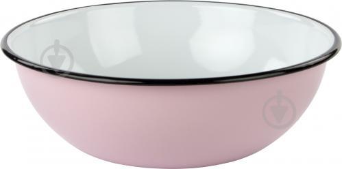 Миска эмалированная Розовая 2,5 л Idilia - фото 3