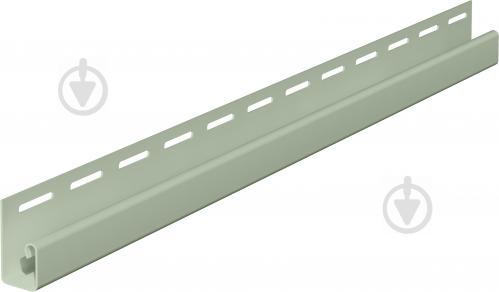 Профиль J-образный VOX 3,05 м светло-зеленый SV-15 - фото Профиль J-образный VOX 3,05 м светло-зеленый SV-15 - фото 2