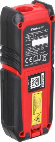 Дальномер лазерный Einhell TC-LD 25 2270075 - фото 8