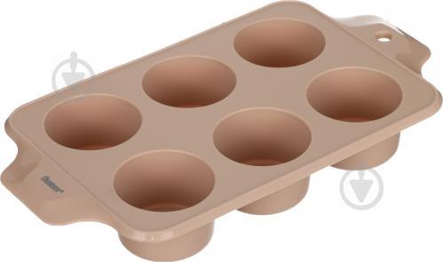 Форма для кексов Beige Rose 6 шт. 4,7x33x18,5 см Flamberg - фото 4