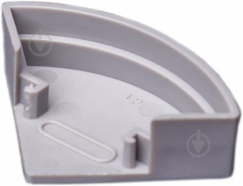 """Комплект окончаний """"Круг"""" TIS для LED профиля 2 шт. КЗСУК - фото 23778_1.jpeg"""