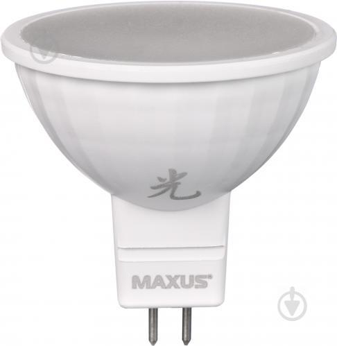 Лампа светодиодная Maxus Sakura 3 шт./уп. 8 Вт MR16 матовая GU5.3 220 В 4100 К 3-LED-614 - фото Лампа светодиодная Maxus Sakura 3 шт./уп. 8 Вт MR16 матовая GU5.3 220 В 4100 К 3-LED-614 - фото 5