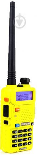 Рация Baofeng UV-5R Yellow - фото 7