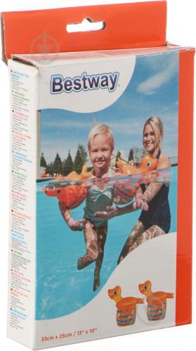Нарукавники Bestway 32117 для плавания Морской котик - фото 3