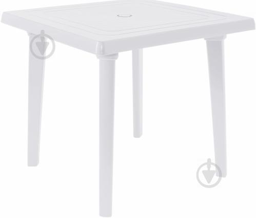 Стол пластиковый Алеана 80x80 см белый - фото 2