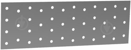Пластина перфорированная 100x260x2 мм - фото Пластина перфорированная 100x260x2 мм - фото 2