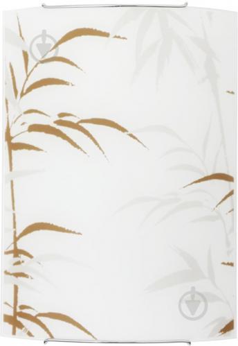 Светильник настенно-потолочный Nowodvorski Bambus 3 1x100 Вт E27 с рисунком 1495 - фото 4
