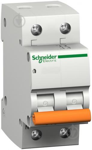 Автоматический выключатель Schneider Electric ВА63 16/2/С 2Р 16 А 4,5 кА 11213 - фото Автоматический выключатель Schneider Electric ВА63 16/2/С 2Р 16 А 4,5 кА 11213 - фото 2