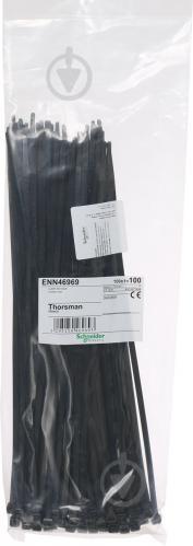 Стяжка кабельная Schneider Electric 4. 8х300 мм 100 шт. черный ENN46969 - фото 4