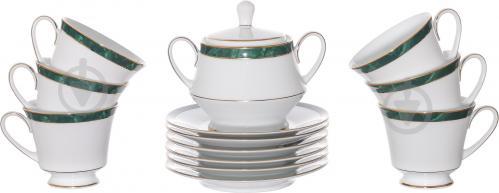 Сервиз чайный Marble Green 13 предметов на 6 персон Noritake - фото 8