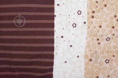 Комплект постельного белья Emily 1,5 коричневый Lorenzzo - фото Комплект постельного белья Emily 1,5 коричневый Lorenzzo - фото 5