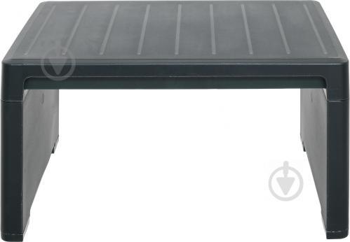 Столик Curver Lago для шезлонга 218765 38x59 см черно-зеленый - фото 6