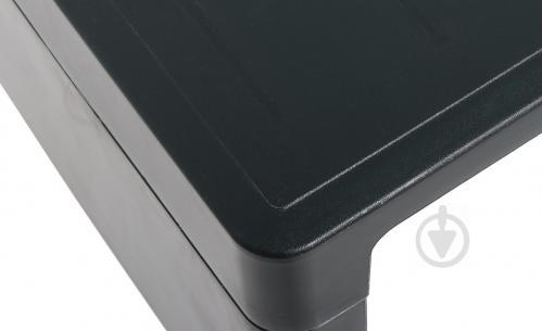 Столик Curver Lago для шезлонга 218765 38x59 см черно-зеленый - фото 7