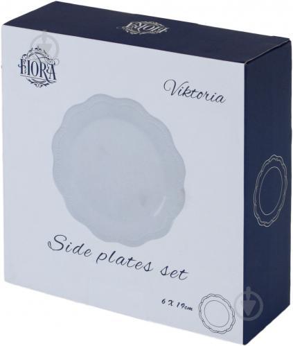 Набор тарелок обеденных Viktoria 19 см 6 шт. Fiora - фото 8