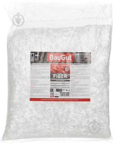Фибра полипропиленовая BauGut 6 мм 0,9 кг - фото 2