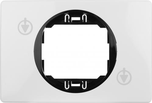 Рамка одноместная Aling-Conel EON горизонтальная бело-черный E6803.0E - фото Рамка одноместная Aling-Conel EON горизонтальная бело-черный E6803.0E - фото 3