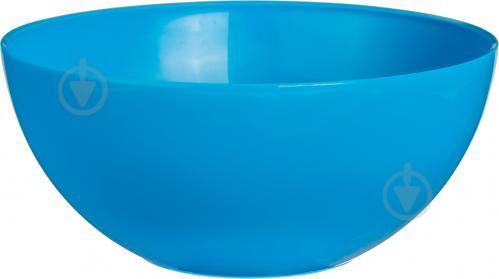 Салатник Руккола пластиковый 5 л голубой Lamela - фото 3