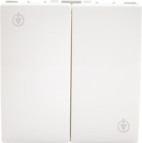 Выключатель двухклавишный Schneider Electric Unica без подсветки 10 А 220В IP20 белый MGU3.211.18 - фото Выключатель двухклавишный Schneider Electric Unica без подсветки 10 А 220В IP20 белый MGU3.211.18 - фото 3