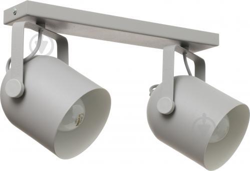 Спот TK Lighting 2616 Spectra 2x60 Вт E27 серый с белым - фото 4