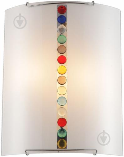 Светильник настенно-потолочный Altalusse 2x40 Вт E27 белый с рисунком INL-9318W-02 - фото 2