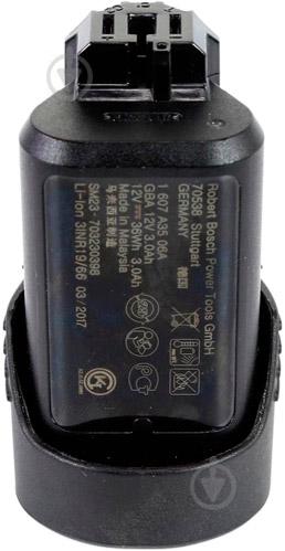 Батарея аккумуляторная Bosch Professional GBA 12V 3.0Ah 1600A00X79 - фото 7
