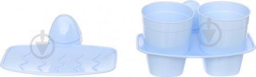 Набор аксессуаров BranQ BQ4004 голубой - фото 5