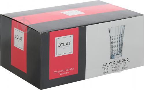 Набор стаканов высоких lady Diamond 360 мл 6 шт. L9746 Eclat - фото 4