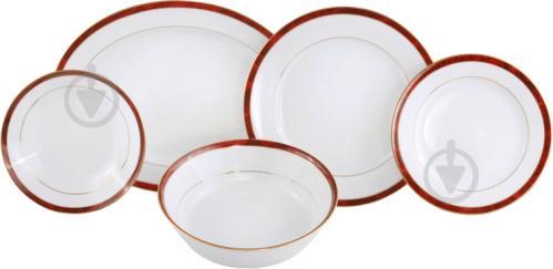 Сервиз столовый Marble Red 20 предметов на 6 персон 101000829 Noritake - фото 2