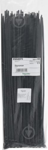 Стяжка кабельная Schneider Electric 4.8х368 мм 100 шт. черный ENN46970 - фото 4