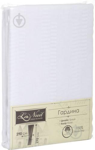 Гардина Грация 290х275 см белый La Nuit - фото 6