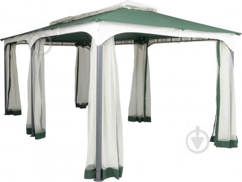 Павильон садовый INDIGO с москитной сеткой зеленый DU120 - фото 19