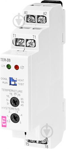Термостат ETI TER-3В (0...+40) 24-240 AC/DC (1x16A_AC1) - фото 2