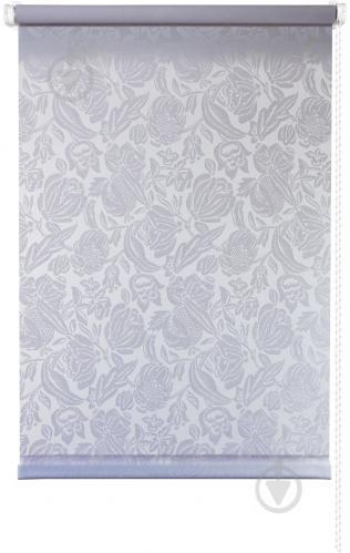 Ролета мини Delfa Роза 43x170 см белая - фото 6