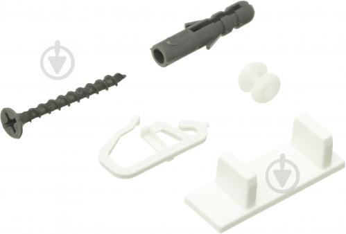 Комплект фурнитуры ОМиС к потолочному карнизу ОМ1 наборной 300 см белый - фото 6