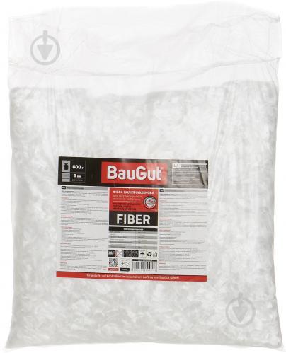 Фибра полипропиленовая BauGut 6 мм 0,6 кг - фото 2