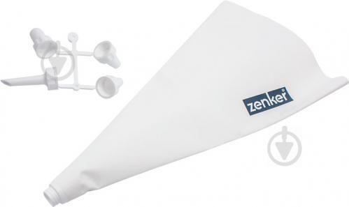 Мешок кондитерский 42786 31 см с 4 насадками Zenker - фото 3