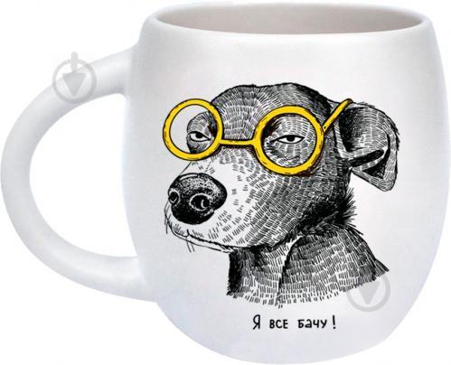 Чашка Собака-подозревака 450 мл Orner - фото 4