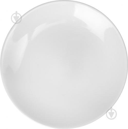 Тарелка обеденная White 20 см - фото 3