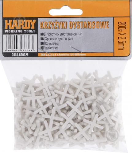 Крестики дистанционные Hardy 2,5 мм 2040-660025 - фото 3