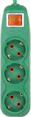 Комплект Nilson удлинитель + тройник с заземлением 3 гн. зеленый 2 м - фото Комплект Nilson удлинитель + тройник с заземлением 3 гн. зеленый 2 м - фото 9