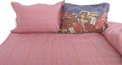 Комплект постельного белья Tangul 1,5 розовый Lorenzzo - фото 9