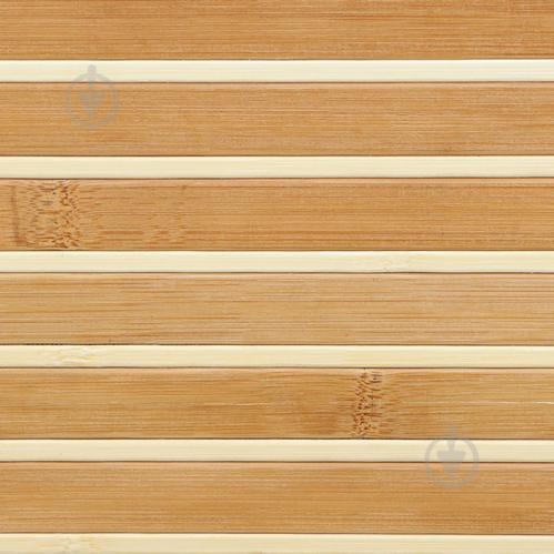 Обои бамбуковые LZ - 0815 17/6 мм 2 м полосатые - фото 5